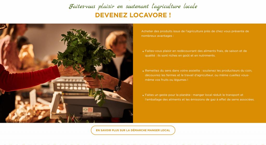 Manger Local - Devenez Locavore